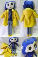 'Other Me' Coraline Doll No.3 by mihijime
