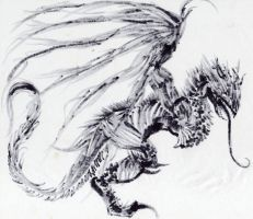 The devil's shadow dragon by Dismay666
