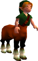 Link as a Centaur by Zeminio