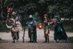 Runescape cosplay group by teezkut