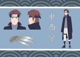 NARUTO OC: Nakanishi Manabu (INFO ADDED) by makibo031226