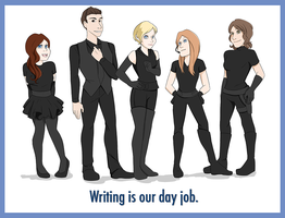 Day Job. by luddles