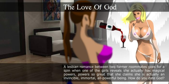 Text Block - The Love Of God by supernaturalerotica