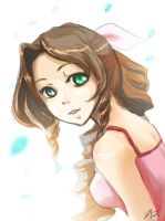 Aerith Gainsborough by realFruit