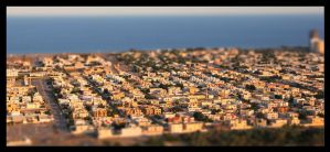 Fujairah Tilt Shift by FlamingAvocado