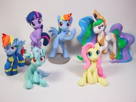 Featured @Bronycon [Mare ed.] by dustysculptures