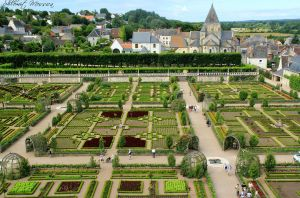 The gardens of Villandry by ShlomitMessica