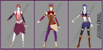 ::Points Comission:: - Clothes Design - Steampunk by larencho