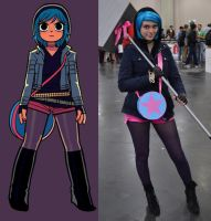 Ramona Flowers NYCC 2012 by dtmoore13