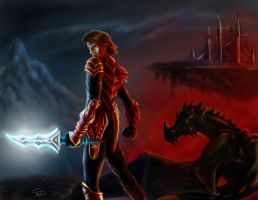 Dragon knight by Nissa978