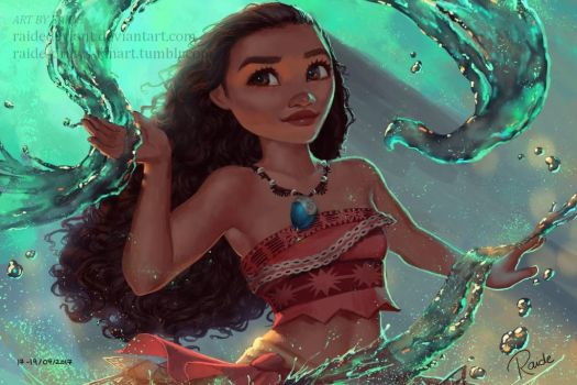 Moana by RaideDeviant