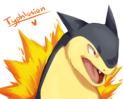 Unff dat Typhlosion by Manic-Bunny