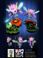 3D Fairy lowpoly by AKK-STUDIO