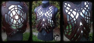 Filigree plate armor by Feral-Workshop