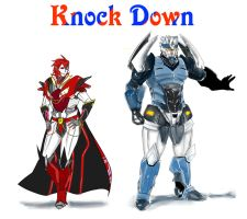 Human Knockout and Breakdown by xshiraminex