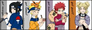 Badges: Naruto Basics by ToonTwins