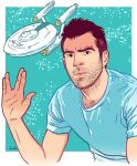 Zachary Quinto by buisan