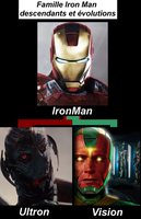 Ironman Vision Ultron by VMJML1er
