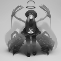 Little spider-witch by Haute-claire