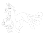 Lineart Example by ScarletsFeed