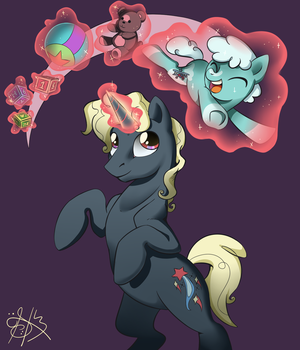 Pony comissions example by Daughter-of-Fantasy