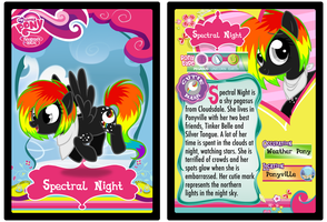 Trading Card: Spectral Night by Diigii-Doll