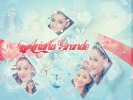 Ariana Grande by PaperCrownnn