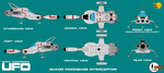Gerry Andersons UFO Moonbase Interceptor by ArthurTwosheds