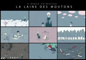 La Laine Des Moutons [Animation] by kapie1571993