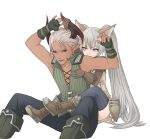 Elin and Castanic by nipuni