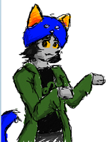 Nepeta in iScribble by ZorraFox