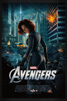 The Avengers: Black Widow | Theatrical Poster by Squiddytron
