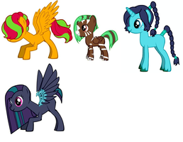 Pony OCs and free breeders 4 by woodsybirds