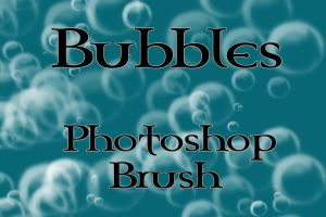 Bubbles Brush for Photoshop by arsenicyanide