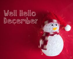 Well Hello December by fiyah-gfx