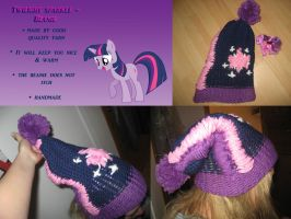 My Twilight Sparkle beanie by mirry92