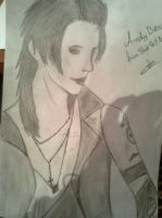 Andy Biersack by Tyutaaa