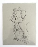 Mouse Ink Sketch by autogatos