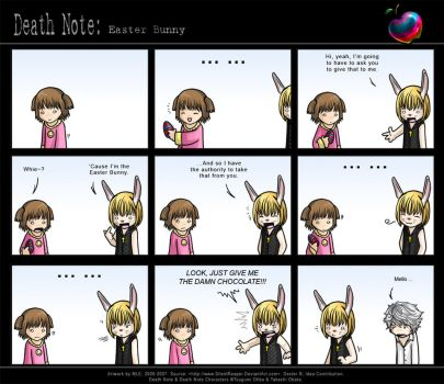 Death Note: Easter Bunny by SilentReaper