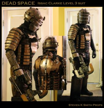 DEAD SPACE Cosplay Test Fit by SKSProps