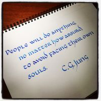 Instagram - Carl Jung - People Will Do Anything by MShades