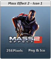 Mass Effect 2- Icon by Crussong