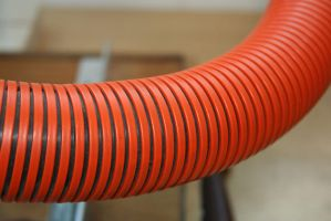 Big Red Tube by KelbelleStock