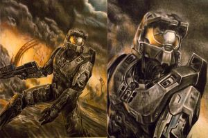 Master Chief by Lewis3222
