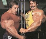 Casey Viator and Mike Mentzer Maxing Out by dhandler19