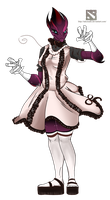 :CO: Dota: Strip of plastic there is nothing to by Blumestien