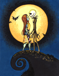 Jack 'n Sally by JadeDragonne