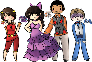 .:ALL THE POKEMON FORMAL:. by CrayonKat