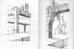 Fun with Perspective Grids by Jcoon