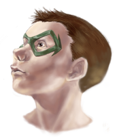 Robin bust by Ironmary